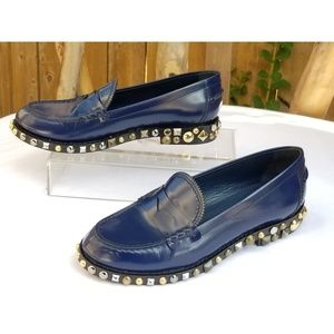 Louis Vuitton studded loafers Size 37.5 / US 7